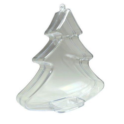 Joy! Crafts Transparante kerstboom 6211/0003 11,2x12,3x3cm