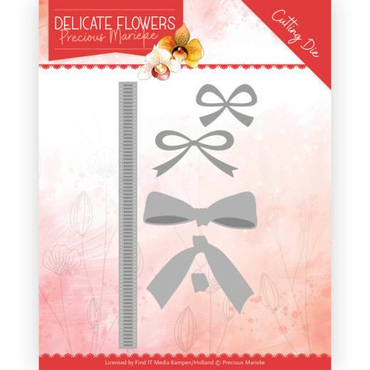 Dies - Precious Marieke Delicate Flowers - Delicate Bow