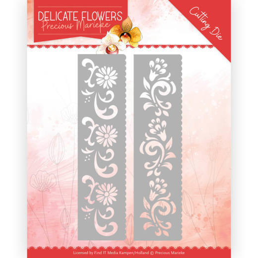Dies - Precious Marieke Delicate Flowers - Delicate Flower Border
