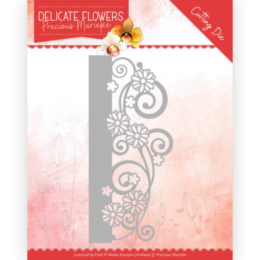 Dies - Precious Marieke Delicate Flowers - Delicate Border