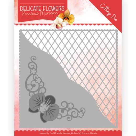 Dies - Precious Marieke Delicate Flowers - Delicate Square