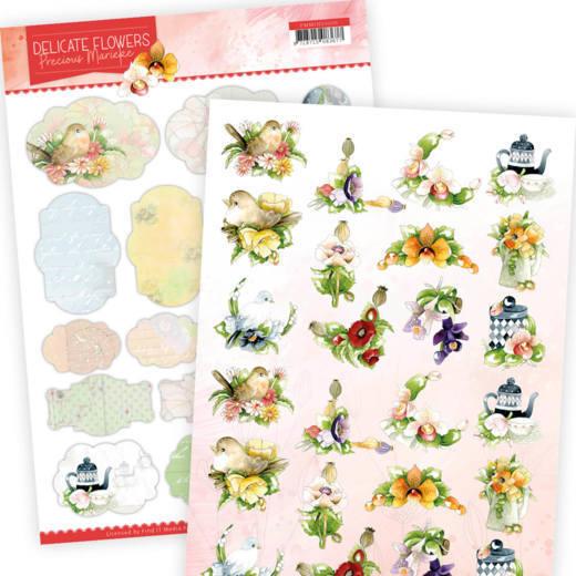 Mini's - Precious Marieke Delicate Flowers
