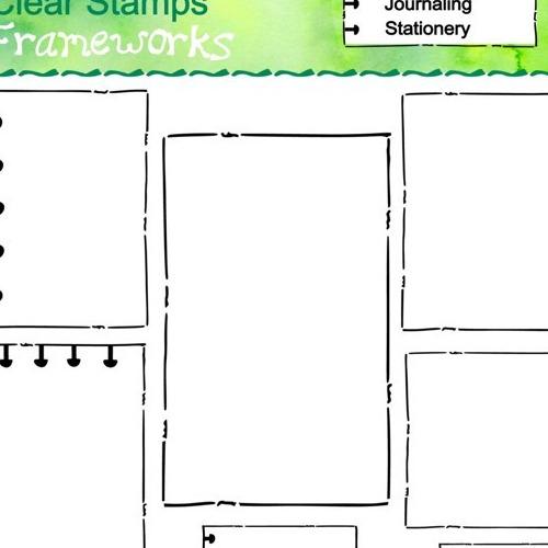 Stempelset Frameworks