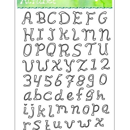 Stansenset alfabet