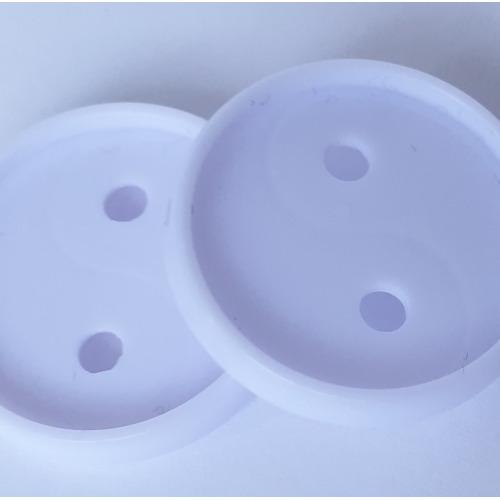 2 Connect discs 12x White