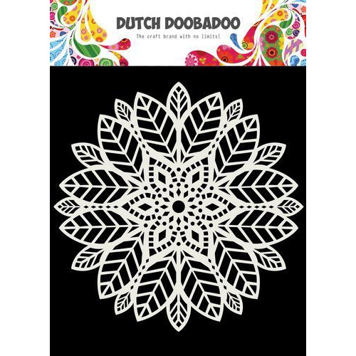 Dutch Doobadoo Mask Art 15X15cm Mandala leaves 470.715.622 (06-20)