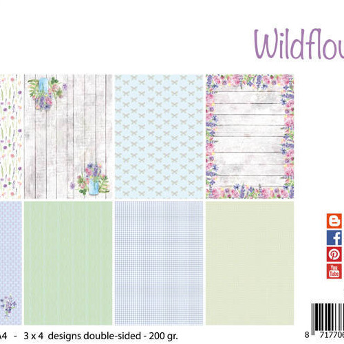 Papierset - Design - Wild flowers