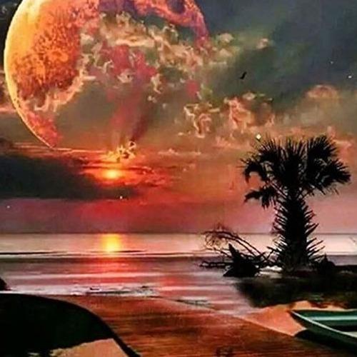 Diamond Painting sunset