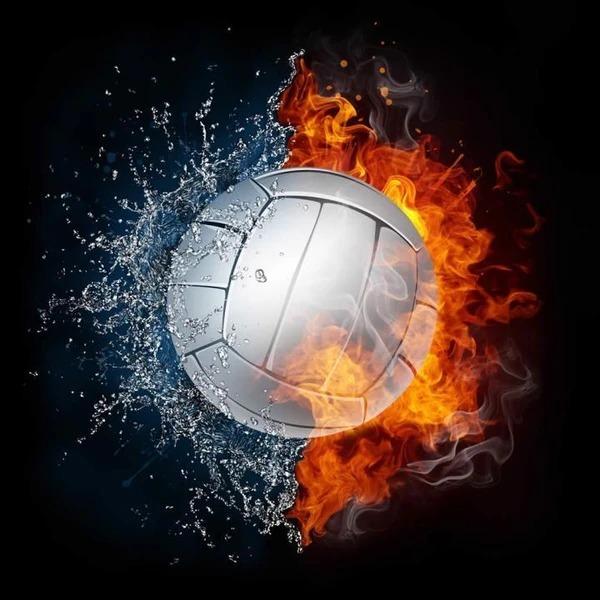 Diamond Painting volleyball