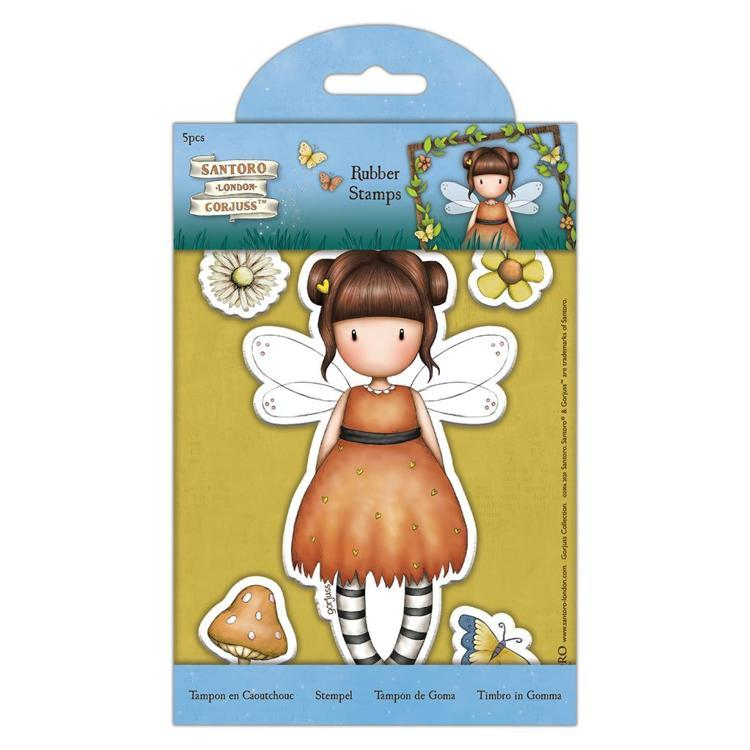 Rubber Stamps - Little Pumpkin - Santoro - Faerie Folk (5 pcs)