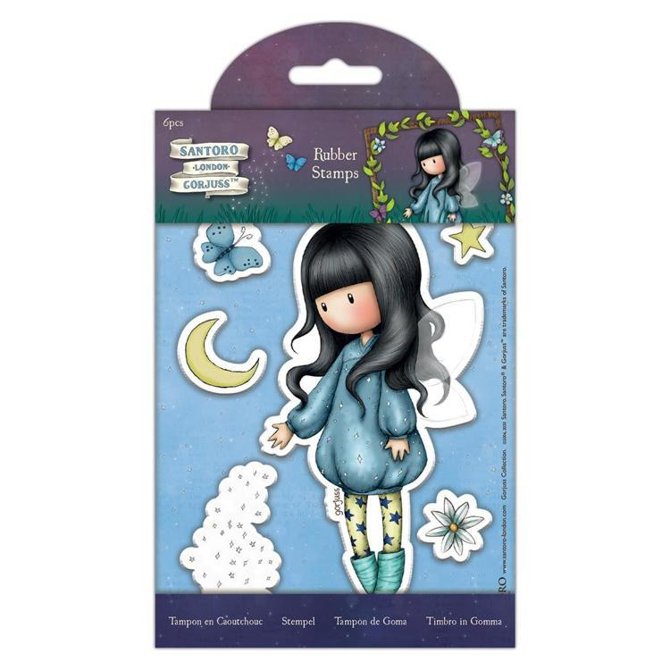 Rubber Stamps - Bubble Fairy - Santoro - Faerie Folk (6 pcs)