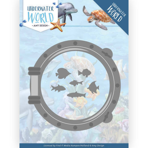 Dies - Amy Design - Underwater World - Porthole
