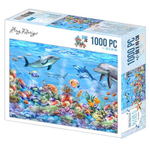Jigsaw puzzle 1000 pc - Amy Design - Underwater World