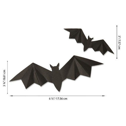 Sizzix Bigz Die - Dimensional Bats 664459 Josh Griffiths (07-20)