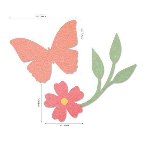 Sizzix Bigz Die - Garden Wings 664486 Olivia Rose (07-20)