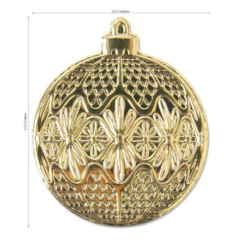 Sizzix 3-D Impresslits Embossing Folder - Ornament 664505 Kath Breen (07-20)