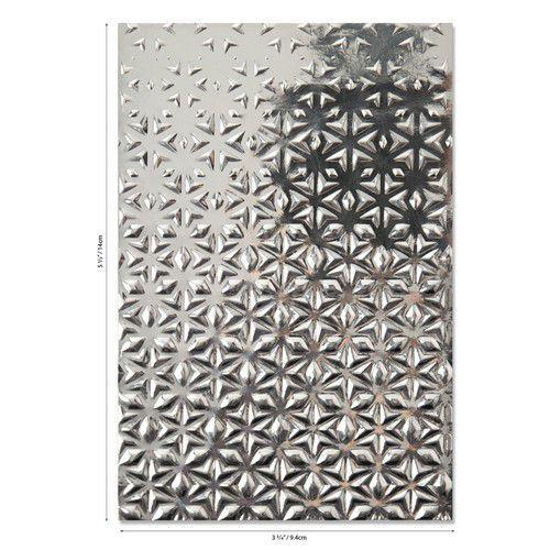 Sizzix 3-D Textured Impressions Emb. Folder Star Fall 664508 Georgie Evans (07-20)