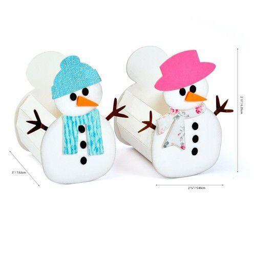 Sizzix ScoreBoards L Die - Box Snowman 664511 Eileen Hull (07-20)