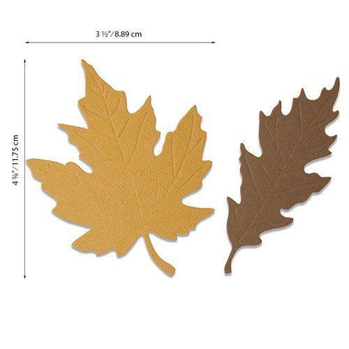 Sizzix Bigz Die - Autumnal Leaves 664590 Jenna Rushforth (07-20)