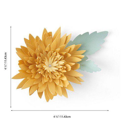 Sizzix Bigz Die - Chrysanthemum 664594 Jennifer Ogborn (07-20)
