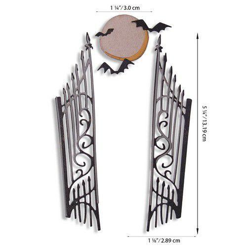 Sizzix Thinlits Die Set - Gate Keeper 9PK 664734 Tim Holtz (07-20)