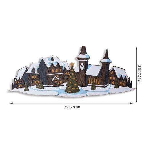 Sizzix Thinlits Die Set - Holiday Village Colorize 7PK 664737 Tim Holtz (07-20)