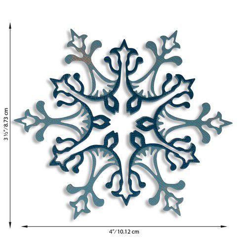 Sizzix Thinlits Die Set - Stunning Snowflake 2PK 664749 Tim Holtz (07-20)
