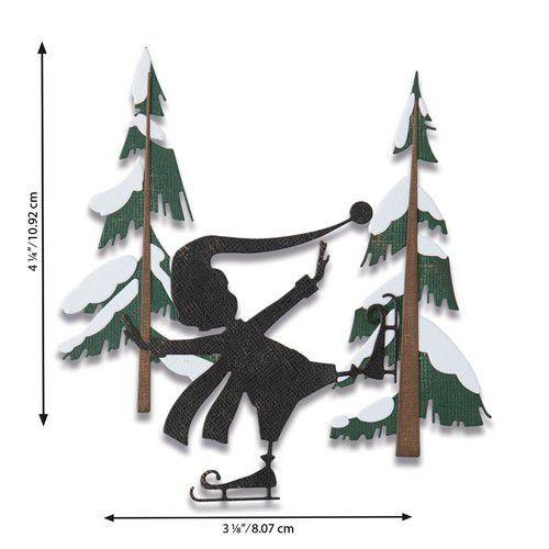 Sizzix Thinlits Die Set - Thin Ice 6PK 664750 Tim Holtz (07-20)