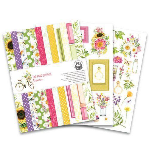 Piatek13 - Paper pad The Four Seasons - Summer 6x8 P13-SUM-10 (06-20)