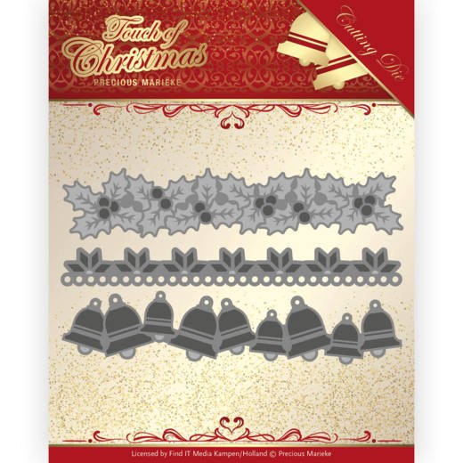 Dies - Precious Marieke - Touch of Christmas - Christmas Borders