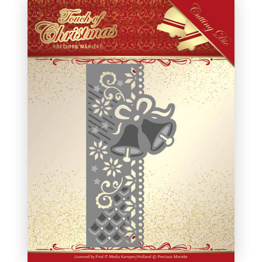 Dies - Precious Marieke - Touch of Christmas - Christmas Bells Border