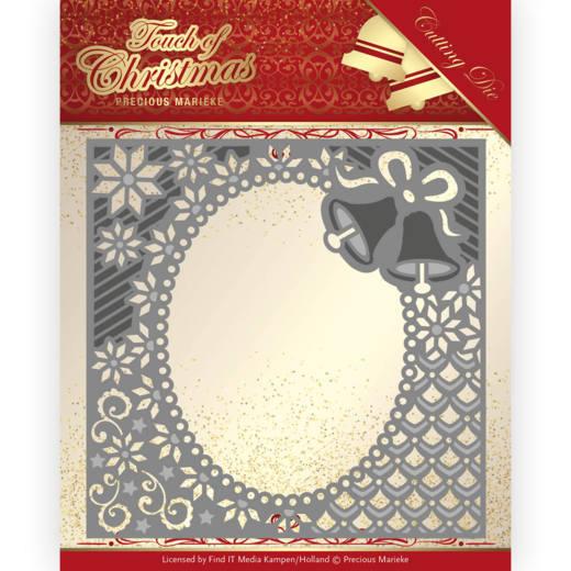 Dies - Precious Marieke - Touch of Christmas - Christmas Bells Frame
