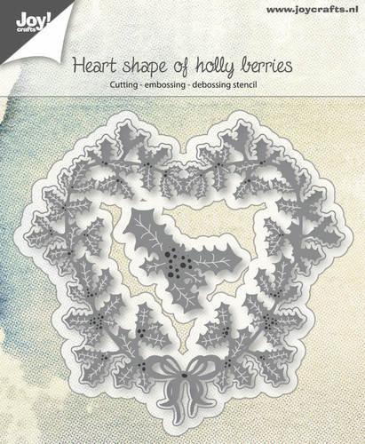 Joy! crafts --Snij-embos-debosstencil  Hart van hulst