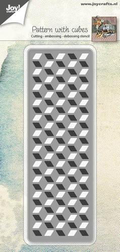 Joy! crafts --Snij-embos--  Patroon met kubus
