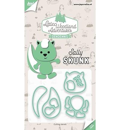 Snijstencils - LWA - Sally Skunk (Stinkdier)