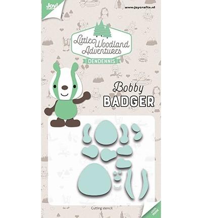 Cutting Snijstencils - LWA - Bobby Badger (Das)