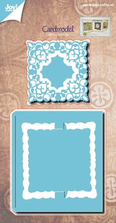 Kaartmodel vierkant + Sier stencils