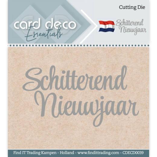 Card Deco Essentials - Cutting Dies - Schitterend Nieuwjaar