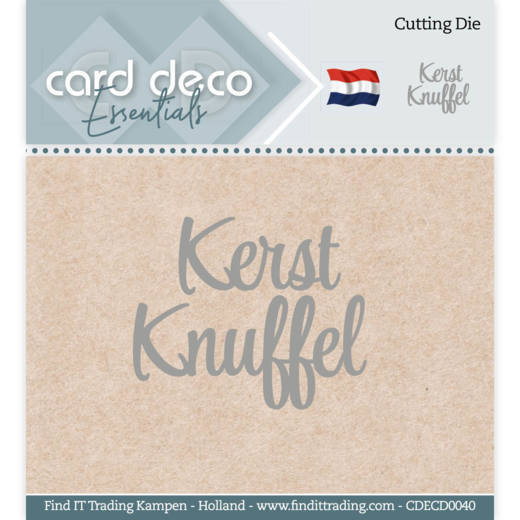 Card Deco Essentials - Cutting Dies - Kerst Knuffel