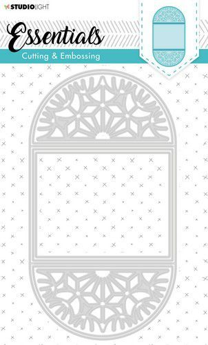 Studio Light Embossing Die Cut Stencil Essentials nr.298 STENCILSL298 (07-20)