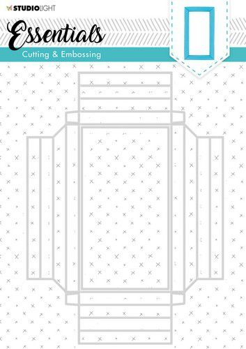 Studio Light Embossing Die Cut Stencil Essentials nr. 302 STENCILSL302 (07-20)