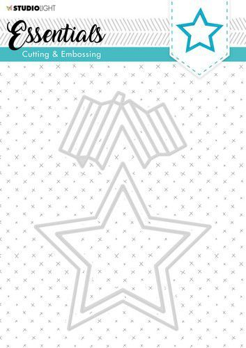 Studio Light Embossing Die Cut Stencil Essentials nr. 303 STENCILSL303 (07-20)