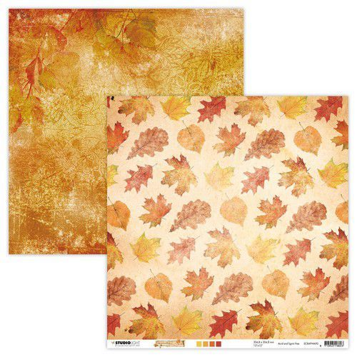 Studio Light Scrap Dubbelz.304x304mm Wonderful Autumn nr.90 SCRAPWA90 (07-20)