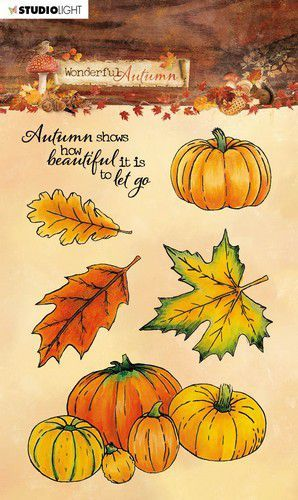 Studio Light Stamp A6 Wonderful Autumn nr. 478 STAMPWA478 (07-20)