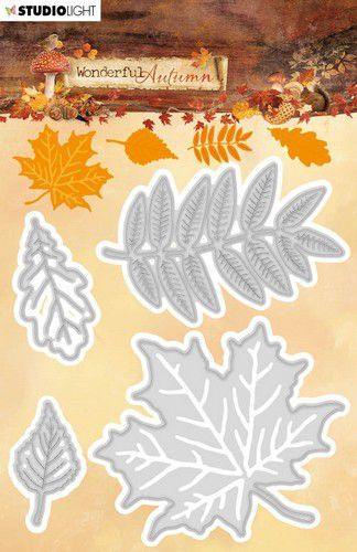 Studio Light Embossing Die 104x117mm Wonderful Autumn nr.308 STENCILWA308 (07-20)