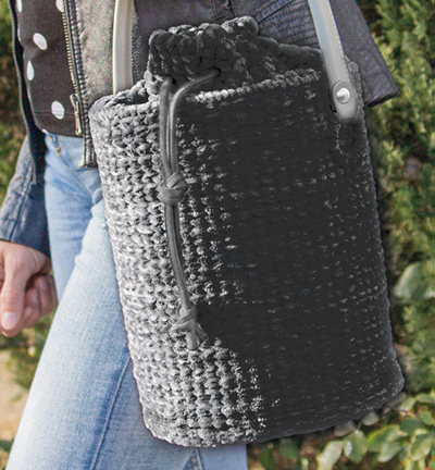 Handbag kit Tania - black