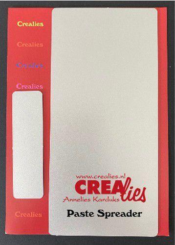 Crealies Mixed Media metalen pasta spatel groot en klein CLMM99 20 x 70 mm - 148 x 70 mm (07-20)