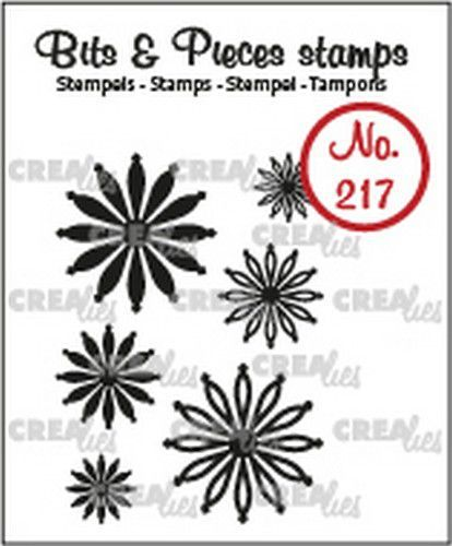 Crealies Bits & Pieces Mini bloemen 25 CLBP217 max. 20 x 20 mm (07-20)