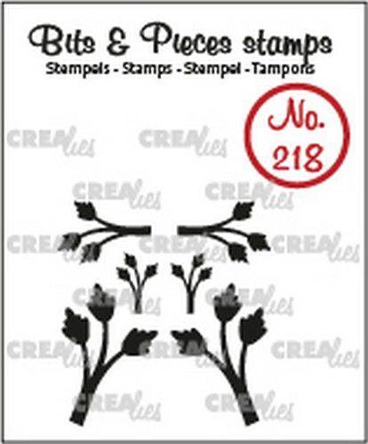 Crealies Bits & Pieces Mini blaadjes 11 CLBP218 max. 14 x 22 mm (07-20)