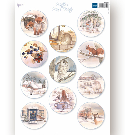 Decoupage - Mattie's Minies Winter